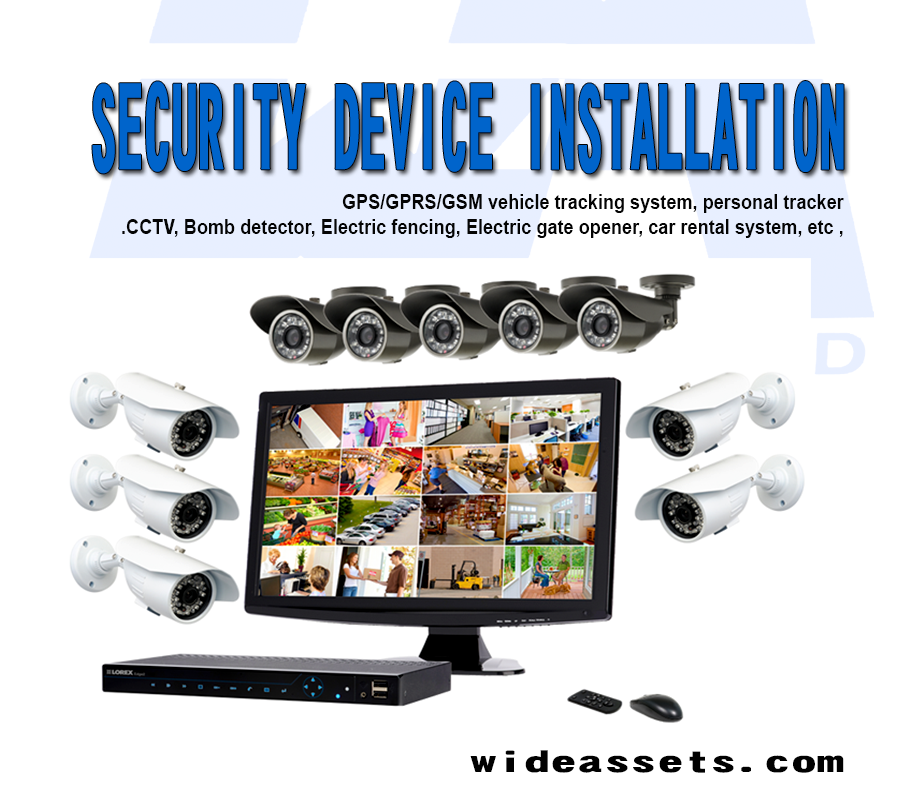 CCTV and Car Tracking Company In Nigeria